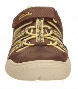 Clarks Stomp Ride Brown Front 500