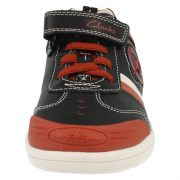 Clarks Wing Brite Black Front 500