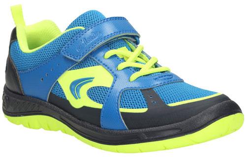Clarks Bolt Aeon Blue 500