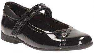 Clarks Dolly Babe Black Patent 500