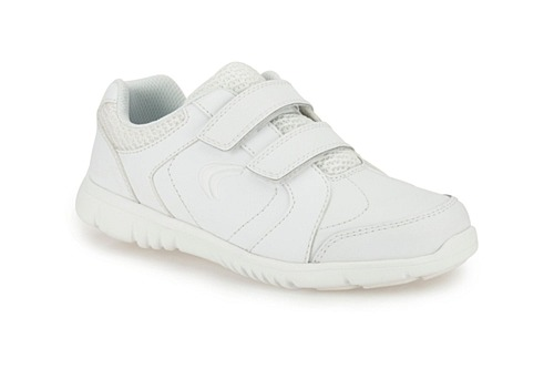 Clarks Free Club Inf White Synthetic 500