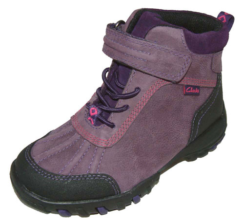 Clarks Muckergirl Purple 500