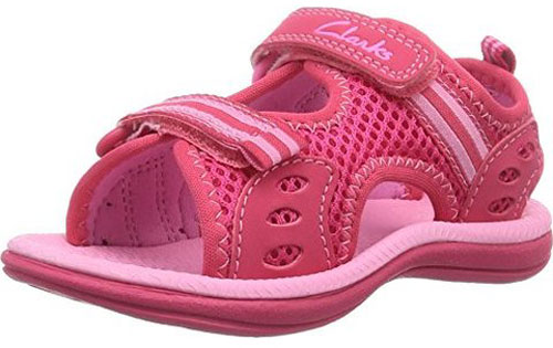 Clarks Star Games Pink 500