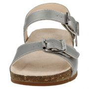 Clarks Volkin Icon Silver Front 500
