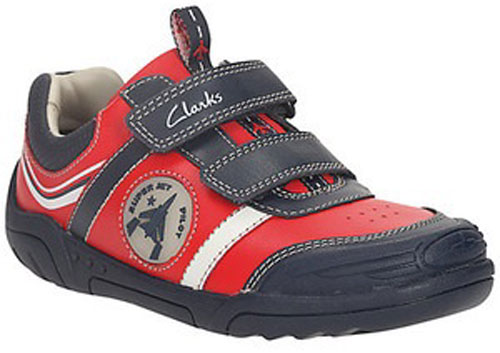 Clarks Wing Time Red 500