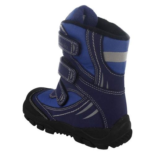 Childrens Blue Shoes Stripe