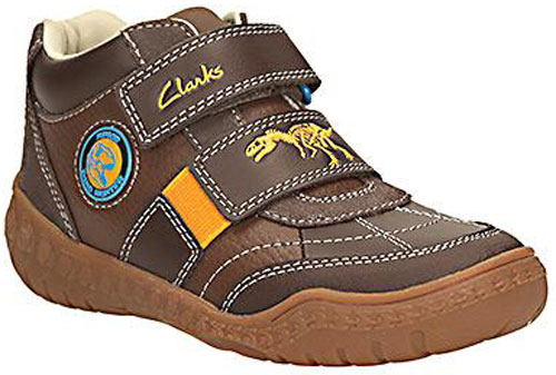 Clarks Stomp Grip Brown 500
