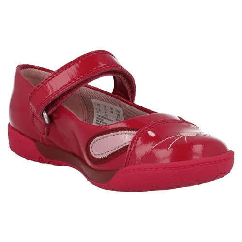 Clarks Nibble Cute Berry Front 500