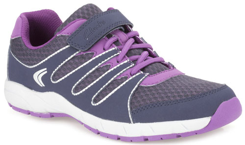 Clarks Cross Dart Dark Purple 500