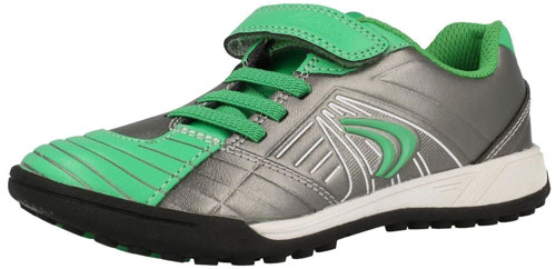 Clarks In Play Silver Green 500