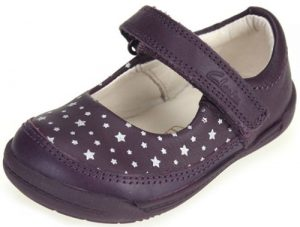 Clarks Softly Ida Purple 500