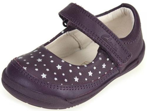 Clarks Softly Ida Purple 500