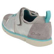 Clarks Tri Bessie Silver Heel 500