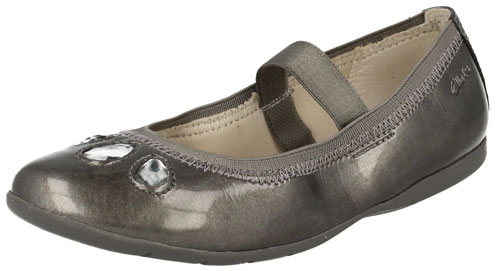 Clarks Dance Rona Dark Grey 500