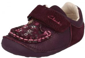 Clarks Little Ditz Purple 500