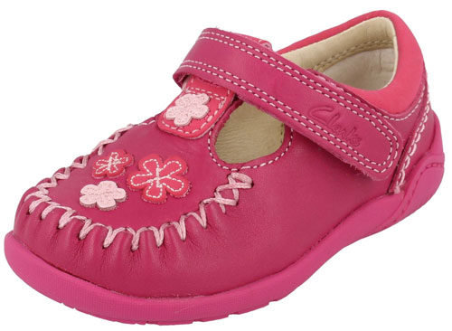Clarks Litzy Lou Hot Pink 500