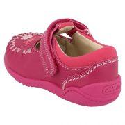 Clarks Litzy Lou Hot Pink Heel 2 500