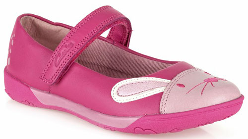 Clarks Nibbles Cute Pink 500