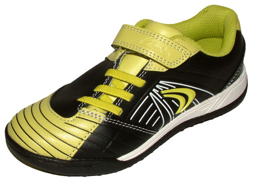 Clarks In Play Black Lime Yellow 500