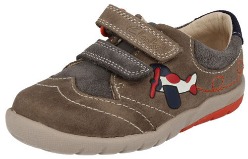 Clarks Softly Liam Grey 500
