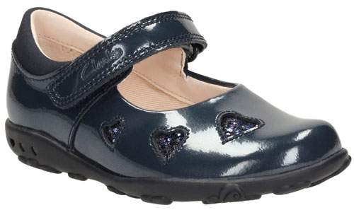 557f1f34d4e8 Product Details. Clarks Ella Leah – these cute girls  leather patent shoes  ...