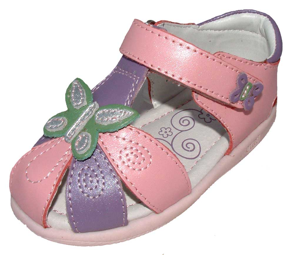 Clarks Girls Shoes Infant Pink Butterfly