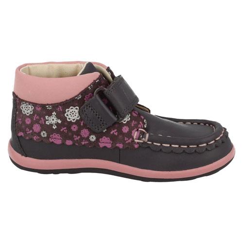 Clarks Floral Kids Shoes