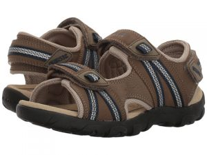 Geox Strada Brown Navy pair