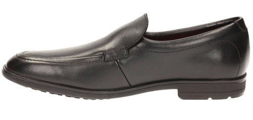 Clarks Willis Step Older Boys Black Leather Slip On Shoes 3-7 Fg Fit New Boxed Clothing, Shoes & Accessories Kids' Clothing, Shoes & Accs