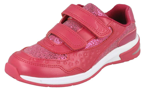 Clarks PIPER PLAY HOT PINK   Shoes For Kids