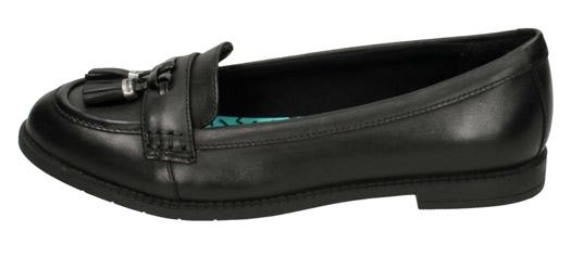 Clarks PREPPY EDGE BLACK | Shoes For Kids