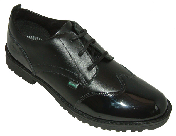 Kickers LACHLY BLACK MIX PATENT | Shoes